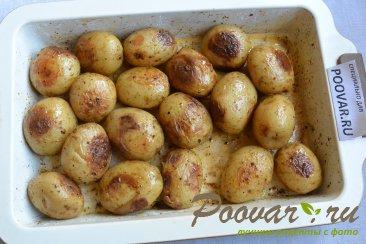 Молодой картофель запечённый в духовке целиком Шаг 7 (картинка)