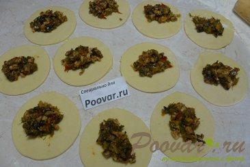 Жареные пирожки из картофельного теста Шаг 13 (картинка)