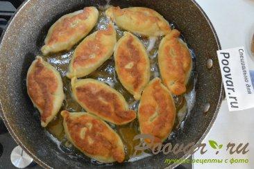 Жареные пирожки из картофельного теста Шаг 19 (картинка)