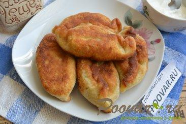 Жареные пирожки из картофельного теста Шаг 20 (картинка)