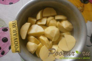 Картофельные кексы с начинкой Шаг 1 (картинка)