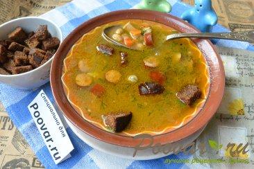 Суп с фасолью и колбасой в мультиварке-скороварке Шаг 11 (картинка)