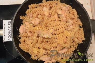 Макароны с мясом в сковороде Шаг 8 (картинка)