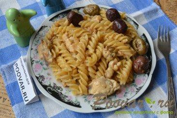 Макароны с мясом в сковороде Шаг 10 (картинка)
