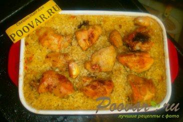 Курица с рисом в духовке Шаг 13 (картинка)