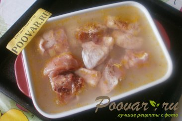 Курица с рисом в духовке Шаг 11 (картинка)