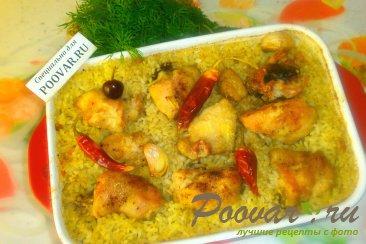 Курица с рисом в духовке Шаг 14 (картинка)