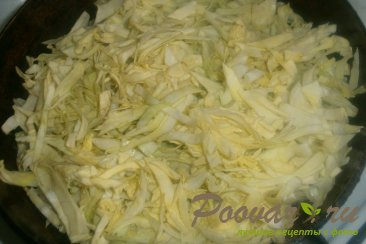 Мини пироги с капустой и вялеными помидорами Шаг 3 (картинка)