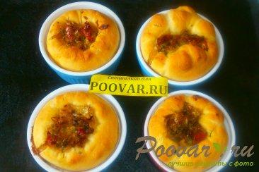 Мини - пироги с капустой и вялеными помидорами Шаг 16 (картинка)