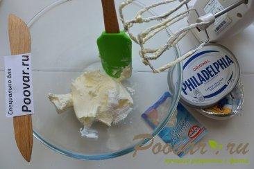 Крем из сливок и сливочного сыра Шаг 3 (картинка)