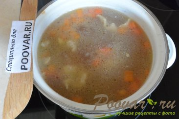 Мясной суп с гречкой Шаг 8 (картинка)