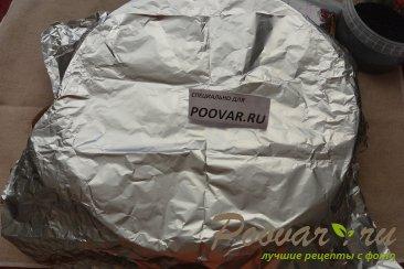 Хлеб с чесноком и сыром без замеса теста Шаг 16 (картинка)