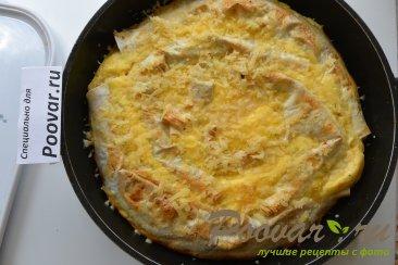Пирог из лаваша с капустой и фаршем Шаг 17 (картинка)