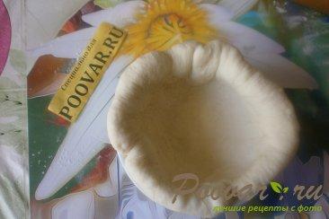 Заливной пирог с грибами Шаг 14 (картинка)