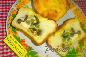 Заливной пирог с грибами Шаг 20 (картинка)