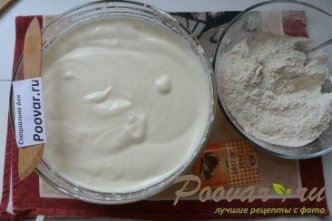 Торт с кремом из творожного сыра и сгущенки Шаг 5 (картинка)