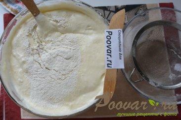 Торт с кремом из творожного сыра и сгущенки Шаг 6 (картинка)