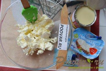 Торт с кремом из творожного сыра и сгущенки Шаг 10 (картинка)