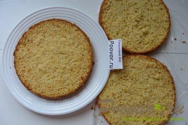 Торт с кремом из творожного сыра и сгущенки Шаг 14 (картинка)