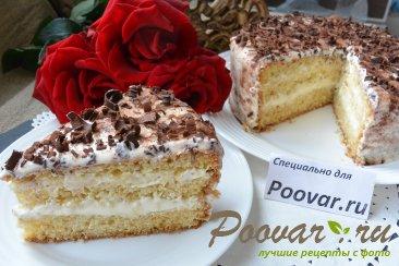 Торт с кремом из творожного сыра и сгущенки Шаг 19 (картинка)
