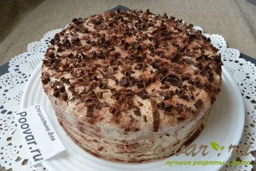 Торт с кремом из творожного сыра и сгущенки Шаг 18 (картинка)