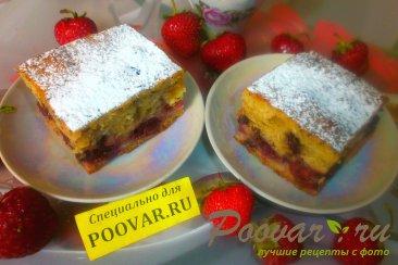 Пирог с вишней и корицей Изображение