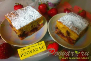 Пирог с вишней и корицей Шаг 17 (картинка)