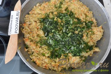 Вертуты с капустой и мясом в духовке Шаг 8 (картинка)