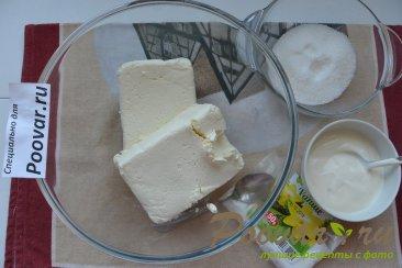 Шоколадно-творожный пирог Шаг 2 (картинка)