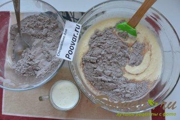 Шоколадно-творожный пирог Шаг 10 (картинка)