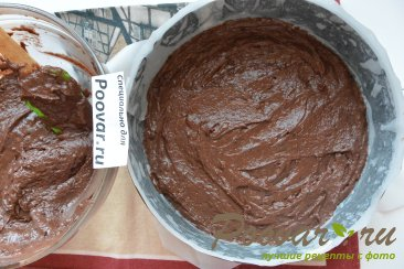Шоколадно-творожный пирог Шаг 13 (картинка)