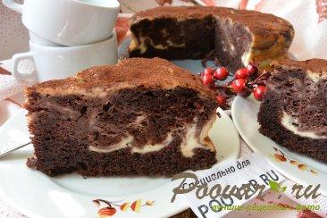 Шоколадно-творожный пирог Шаг 20 (картинка)