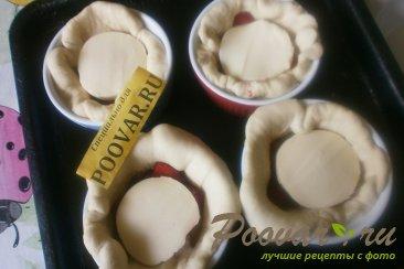 Пироги с клубникой и сыром моцарелла Шаг 12 (картинка)