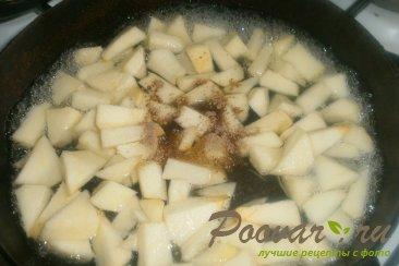 Рисовый пудинг с яблоками Шаг 5 (картинка)