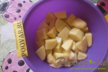 Картофель с куриными крылышками Шаг 3 (картинка)