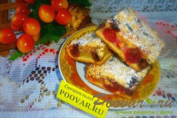 Вишнёвый пирог с крошкой Изображение