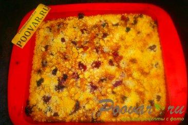 Вишнёвый пирог с крошкой Шаг 14 (картинка)