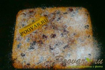Вишнёвый пирог с крошкой Шаг 15 (картинка)