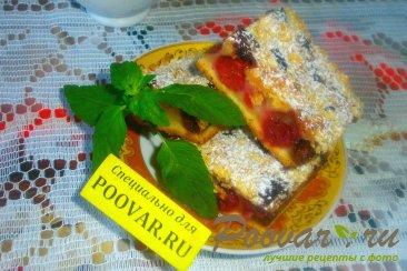 Вишнёвый пирог с крошкой Шаг 16 (картинка)