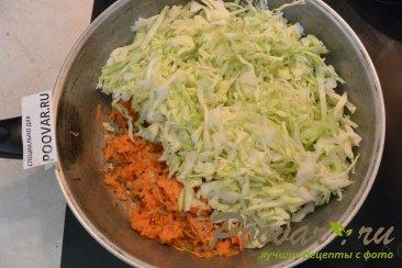 Пирожки из лаваша с капустой Шаг 3 (картинка)