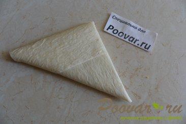Пирожки из лаваша с капустой Шаг 8 (картинка)