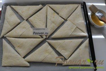 Пирожки из лаваша с капустой Шаг 10 (картинка)