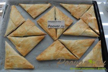 Пирожки из лаваша с капустой Шаг 11 (картинка)