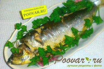 Рыба запечённая в металлическом рукаве Изображение