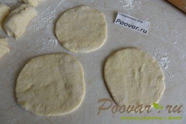 Тесто на кефире для жареных пирожков Шаг 13 (картинка)