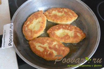 Тесто на кефире для жареных пирожков Шаг 18 (картинка)