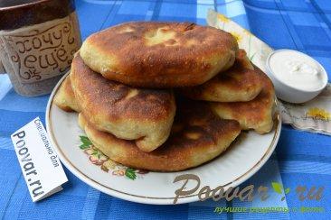 Тесто на кефире для жареных пирожков Изображение