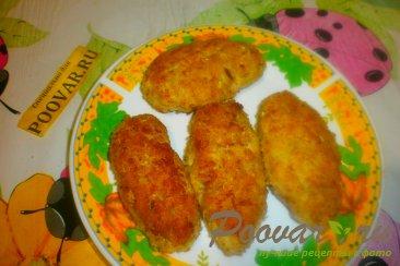 Куриные котлеты с кабачками в панировке Шаг 11 (картинка)