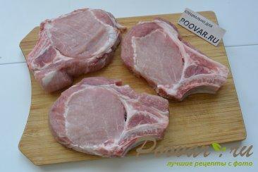 Свиная отбивная на косточке Шаг 1 (картинка)