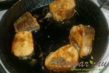 Хек с кабачками в томатном соусе Шаг 6 (картинка)